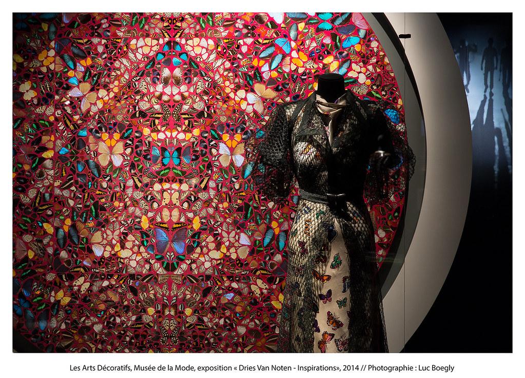 דריס ואן נוטן, תערוכה במוזאון לטקסטיל ואופנה, פריז