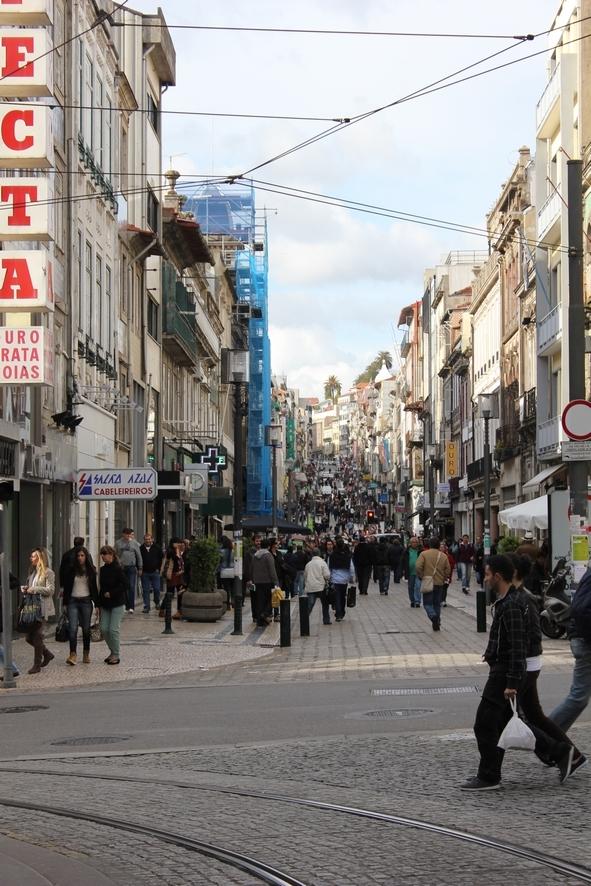 angle rues Passos Manuel et Santa Catarina