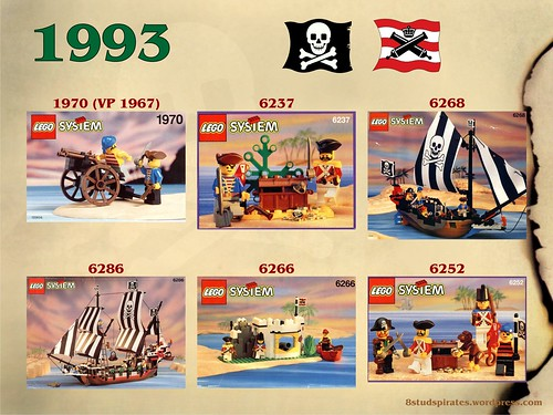LEGO Pirates Timeline 1993