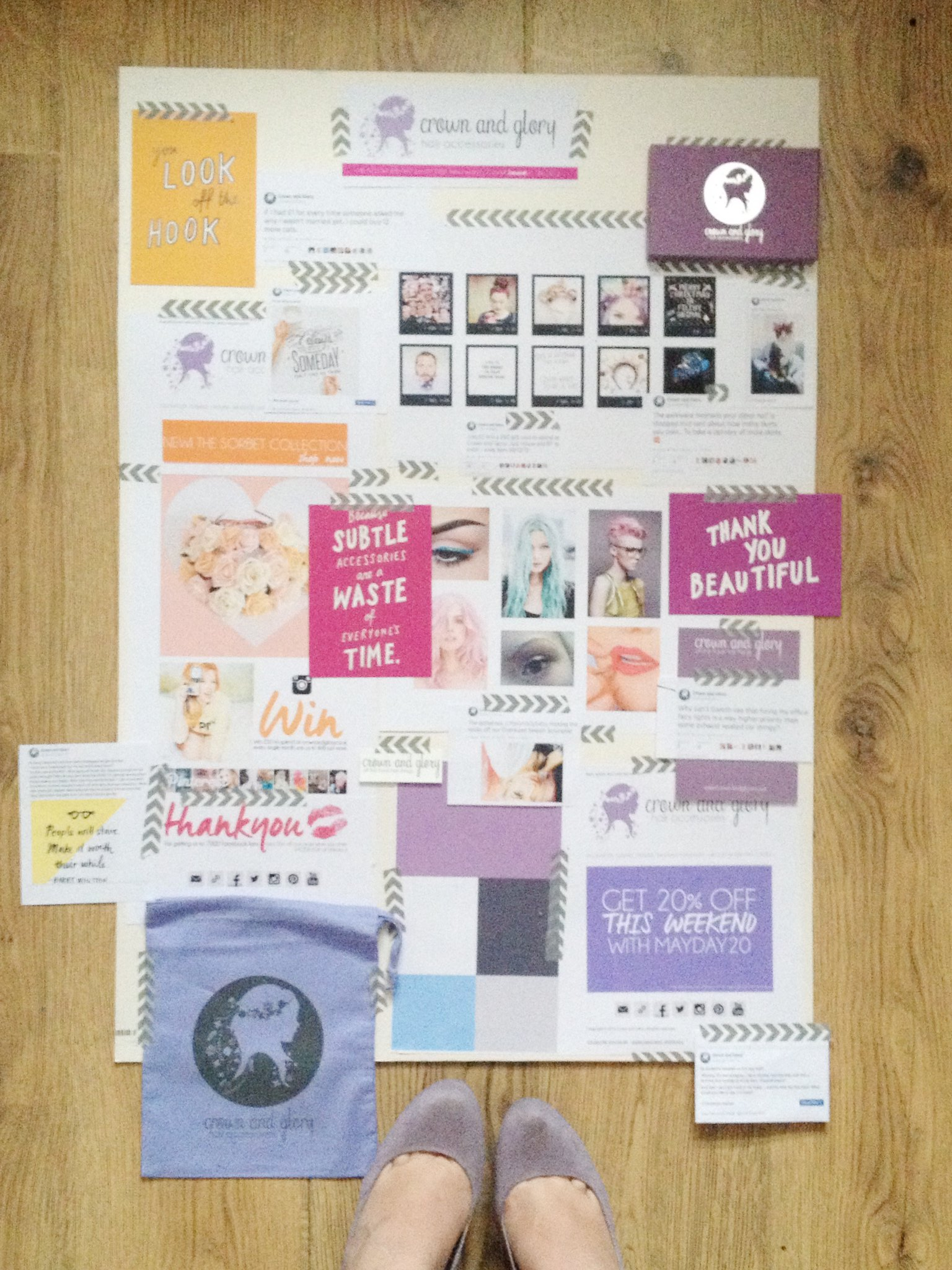 crown and glory the blogcademy brand audit