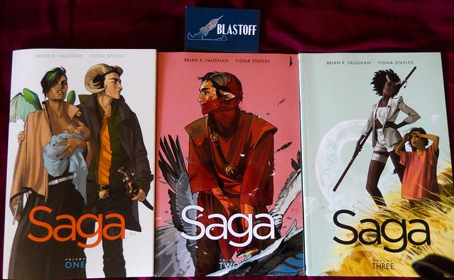 Saga Vols 1-3
