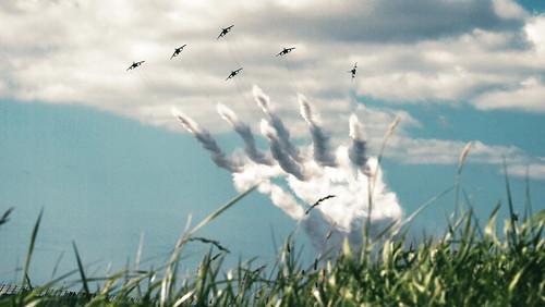 airplane sapporo hokkaido blueimpulse
