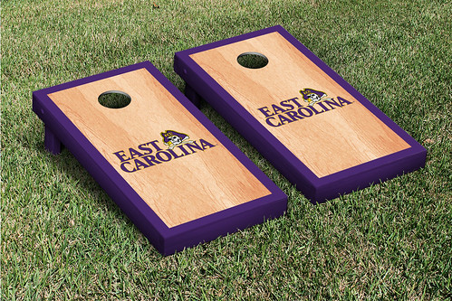 East Carolina University ECU Pirates Cornhole Game Set Hardcourt
