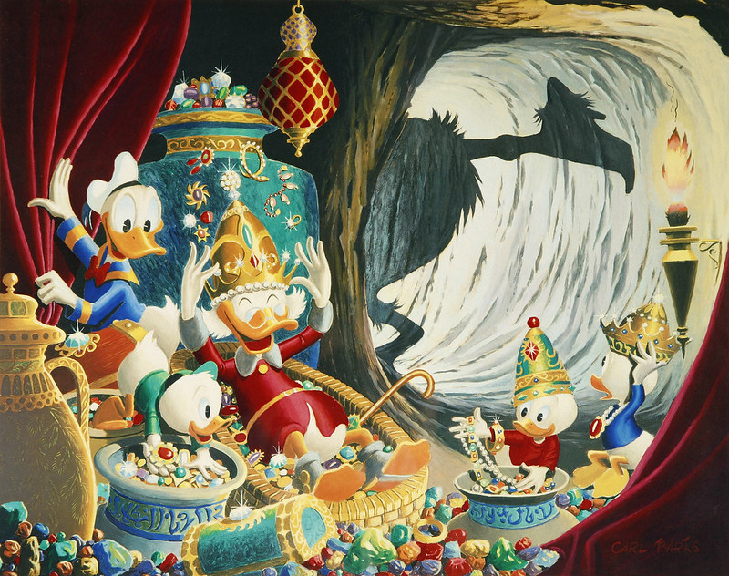 Carl Barks - Cave of Ali Baba, 1973