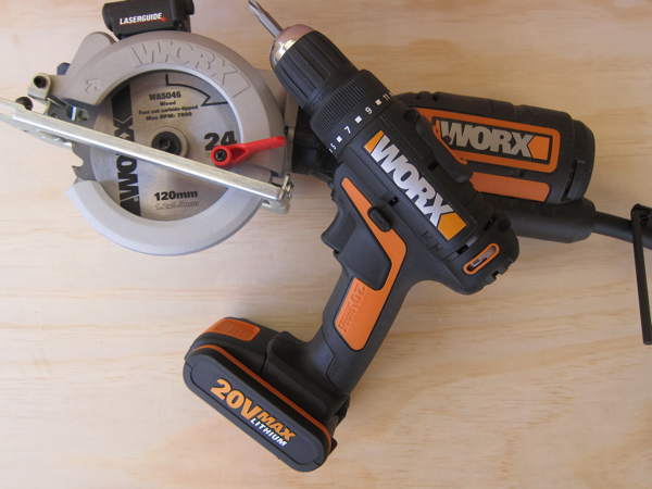The WX523 Worxsaw is the latest addition to the power tool range