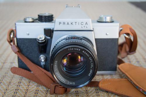 Praktica LTL with SMC Takumar 55mm f1.8 2