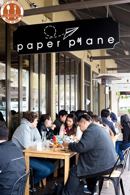 Paper Plane Cafe Menu Lunch