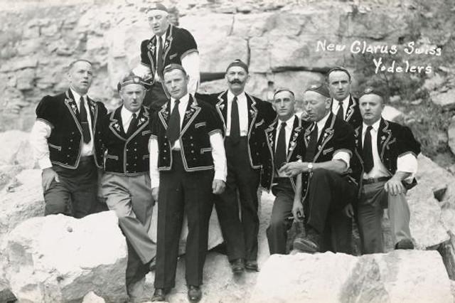Swiss Yodellers, 1922