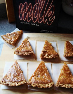 Momofuku Crack Pie: Slices