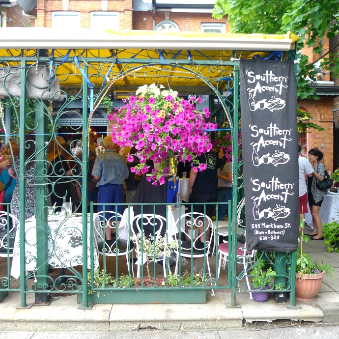Southern-Accent-Anniversary-Entrance, Toronto, Restaurant, Event
