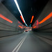 South bound in the Blackwall Tunnel by lomokev