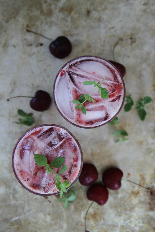 Cherry Gin Bramble