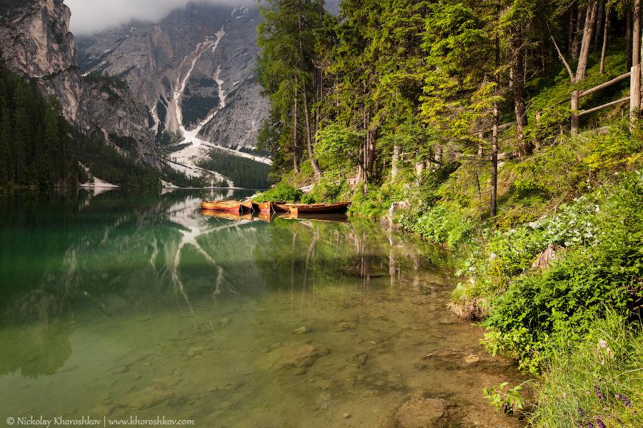 Boats at the lake