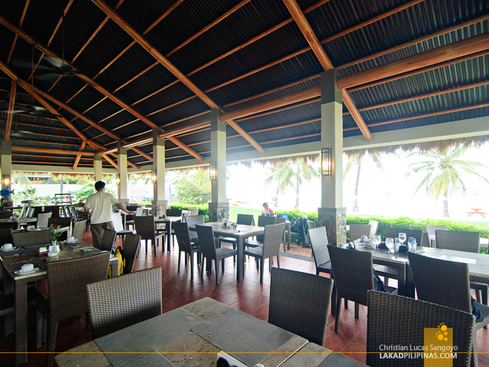 Breakfast Restaurant at Bohol Beach Club in Panglao