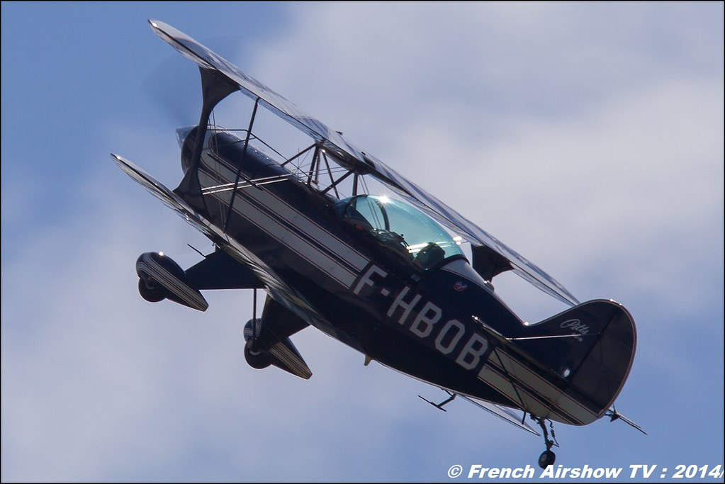 Pitts S2B F-HBOB Meeting Aerien 2014