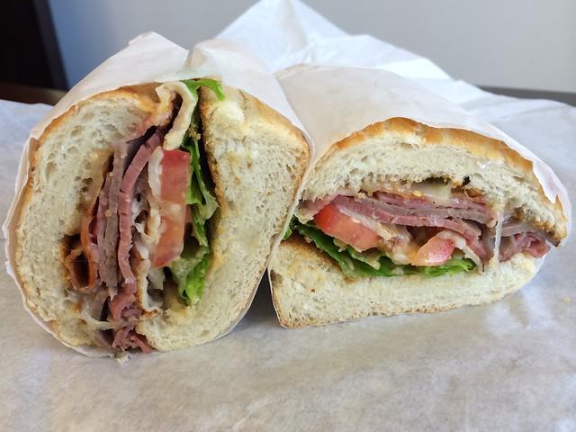 Flying Dutchman sandwich - Miss Tomato Sandwich Shop