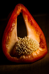 the Heart of a Pepper