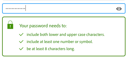 Adobe Password