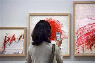 Image of Centre Georges Pompidou near Paris 04. dalbera cnacgp paris france centregeorgespompidou smartphone médiation cytwombly