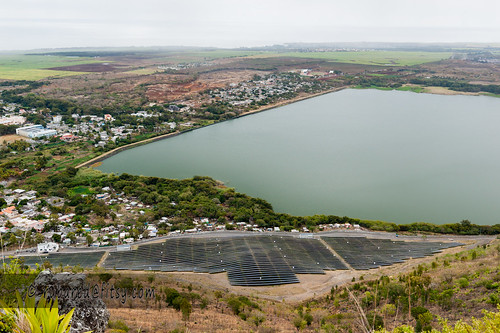 reservoir mauritius hike mountstpierre lake solarpanels laferme mountain bambous rivièrenoiredistrict mu