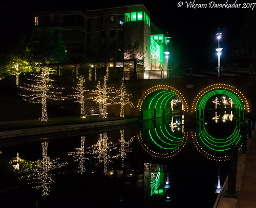 houston texas woodlands woodlandswaterway reflections lights water waterfront waterway artificialwaterway sony sonynex5t