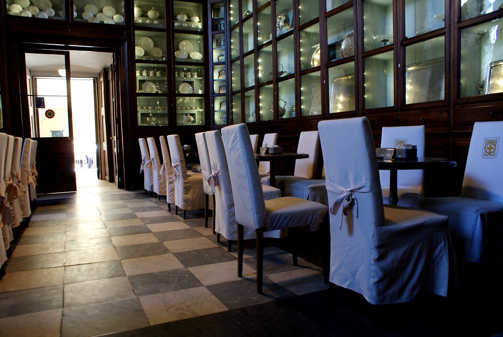 Café du Palais Royal à Turin.