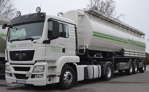 MAN TGS 18.400 - HaGe Logistik Kiel - D  KI HL 437