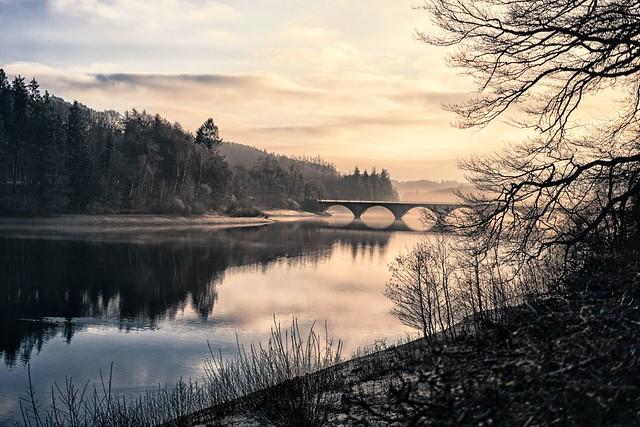 Klamer Brücke Versetalsperre, Fujifilm X-E2, XF27mmF2.8