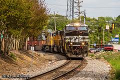NS 7630 | GE ES44DC | NS Memphis District