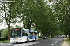 Heuliez Bus GX 327 - SEMTAN (Société d'Économie Mixte des Transports de l'Agglomération Niortaise) / TAN (Transports de l'Agglomération Niortaise) n°718