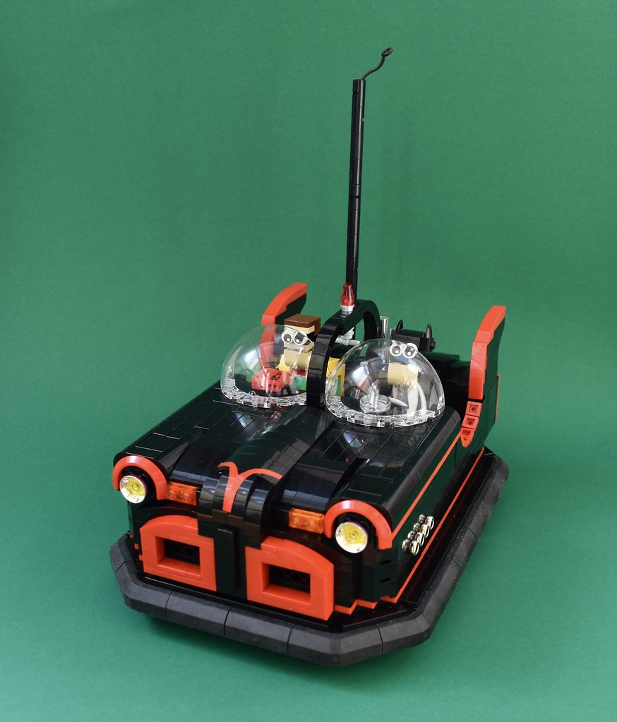 Holy Bumpering Bumper Cars Batman (custom built Lego model)