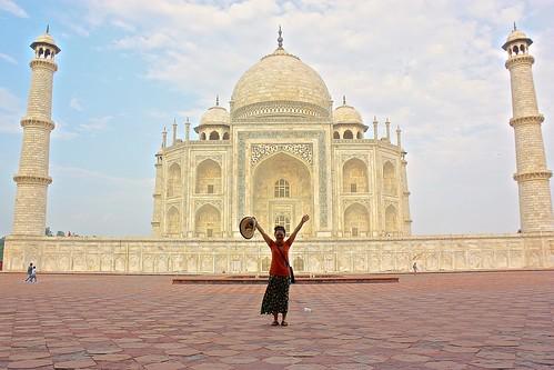 Taj Mahal and Olga