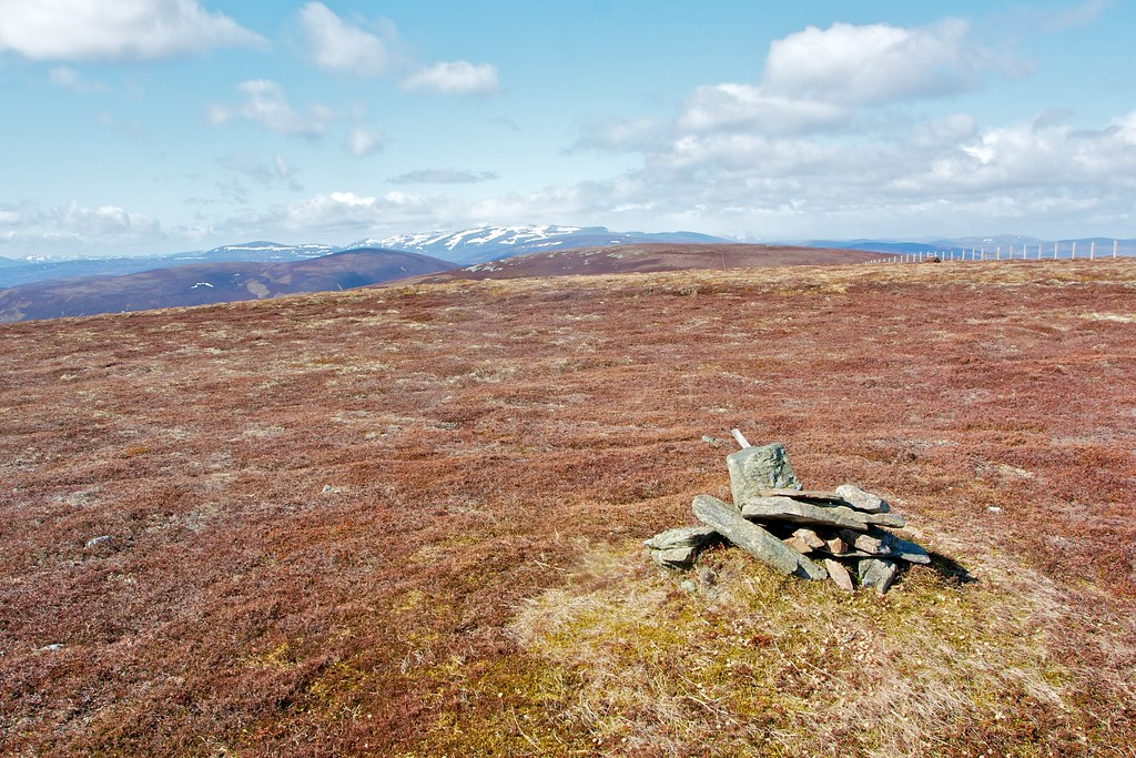 Summit of Cairnagour Hill