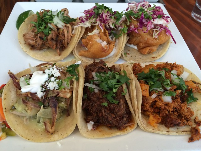 Assorted tacos - Tacolicious