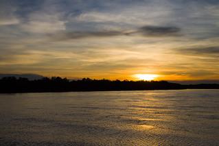 Sunset @ Selangor River