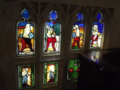 Church of St Mary - Sudeley Castle & Gardens - stained glass windows