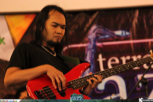 Bassist Indonesia Dede SP