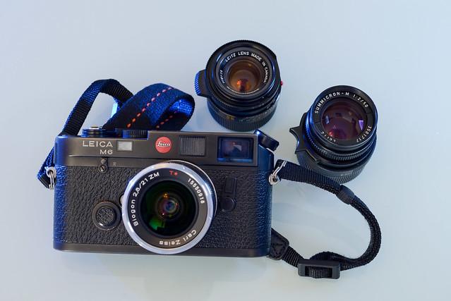 【Leica M6 + ZM 21/2.8】目前所有的 RF 機相關配備,擴充之路總是漫長的
