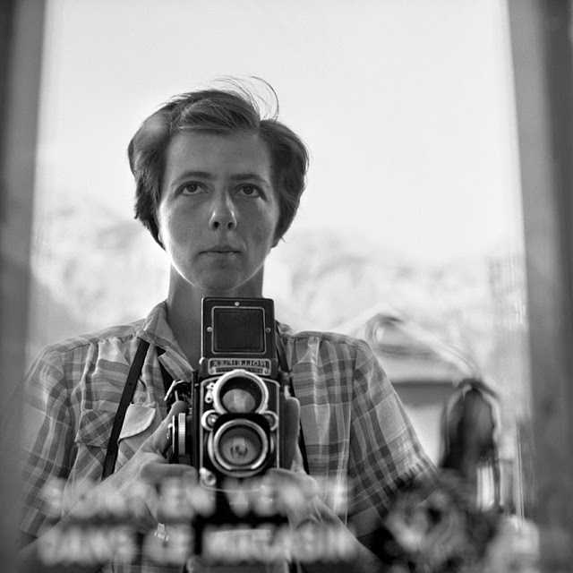 Vivian Maier Self-Portrait (9)