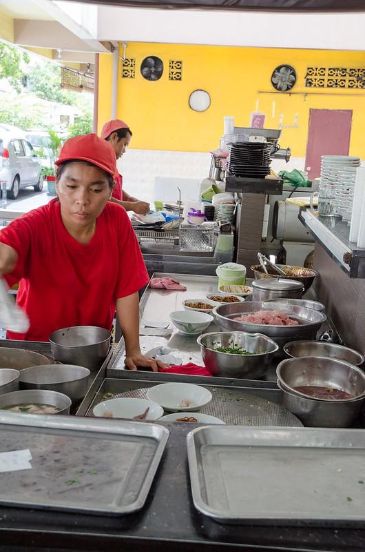 Pork Noodle at Kedai Kopi Jia Siang (家香生肉面), Kota Kinabalu, Sabah