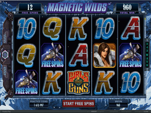 Girsl with Guns - Frozen Dawn Free Spins