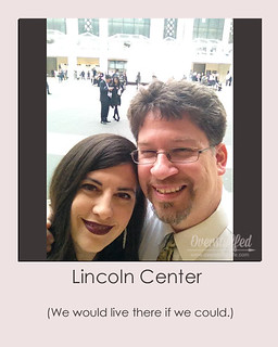 NYC Selfie Lincoln Center