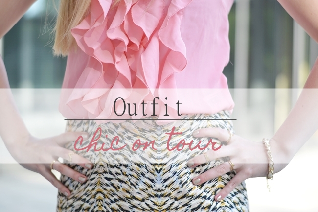 Outfit chic on tour Banner