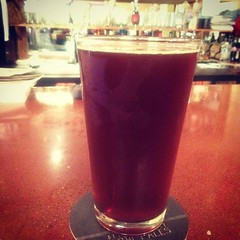 Hazelnut brown nectar from rogue brewing co is back at Piacis. #beer #love