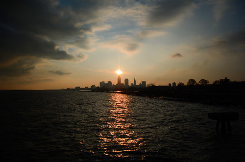 Cleveland Sunrise at Edgewater Park