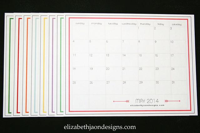 2014 Calendars 1