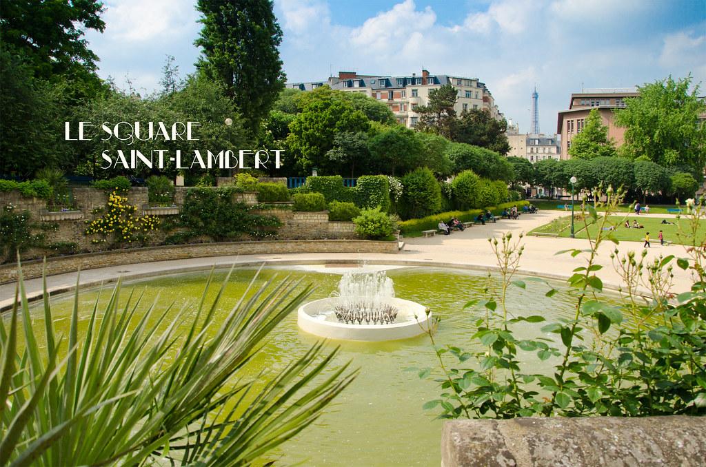 Le square Saint-Lambert