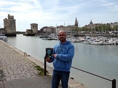 Gracias Nico por la foto de MyCoffeeBox en LaRochelle, Francia