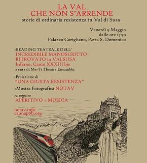 9-5/Recita teatrale dell'Incredibile Manoscritto ritrovato in Val Susa