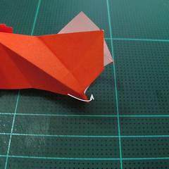 การพับกระดาษเป็นรูปปลาทอง (Origami Goldfish) 026